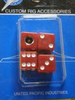 Ventilkappen - Würfel rot