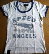 King Kerosin Limited Slub Jersey T-Shirt Tjg6-QGA /Speed Angel