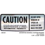 Race Sticker  St - mooneyes Caution !