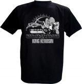 King Kerosin T-Shirt - Bad flat Black