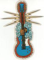 Almera Sticker - Gitarre