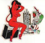 CooP Sticker - Color Sound Devilgirl