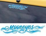 Race Sticker  St - Mooneyes Pinstripe blue