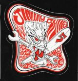 Jimmy Shine Sticker - Tiki large