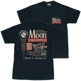 MOON EYES T-Shirt MQT086bk / 60 Year of Excellence