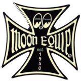 Metal Pin - MOON Malteser Cross
