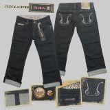 Queen Kerosin Jeans 7/8 Denim - denim 3a