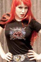 Rumble59 Girls T-Shirt /Cherry Girl