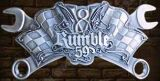 Rumble 59 Buckle - V8 Wrench Hell Bent