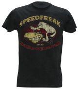 King Kerosin Vintage T-Shirt - Speedfreak mit Hut