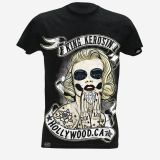 King Kerosin Slub Jersey T-Shirt  Tjm-MAY / Hollywood
