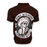 KING KEROSIN Kurzarm-Holzfäller Shirt-MDA /Tijuana Mexico