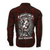 KING KEROSIN Langarm-Holzfäller Shirt-LYL / Lady Luck