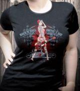 Rumble59 Girls T-Shirt / Rock`n`Roll Until I Die