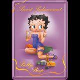 Blechpostkarte - Betty Boop / Sweet Seducement