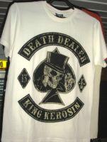 King Kerosin Regular T-Shirt offwhite / Death Dealer