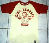 King Kerosin Raglan T-Shirt - Hot Rod Pistons