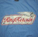 King Kerosin Regular T-Shirt blue / Indian