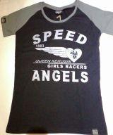 Queen Kerosin Girls Raglan T-Shirt RTG-QGA / Speed Angel