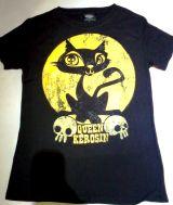 King Kerosin Vintage T-Shirt Tgv-QKY / Moonlight Cat