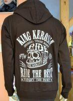 Zip-Hoodie Gestickte von King Kerosin - Ride the Best