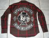 KING KEROSIN Langarm-Holzfäller Shirt-DDE / Death Dealer