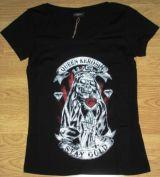 Queen Kerosin Girls T-Shirt - Stay Gold
