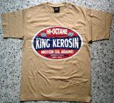 King Kerosin Regular T-Shirt / HI Octane - beige