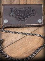 Leder Geldbeutel von Rumble59 - Braun