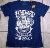 King Kerosin Batik Vintage Shirt - Sailor`s Grave / blau