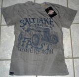 Batik Vintage Shirt - Salt Lake Demons / Grau