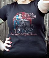 Rumble59 Girls T-Shirt / Hotrod Betty`s Speed Shop