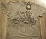 King Kerosin Batik Vintage Shirt - Hippy Killer / grau