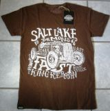 Batik Vintage Shirt - Salt Lake Demons / braun