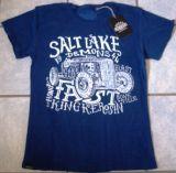 Batik Vintage Shirt - Salt Lake Demons / blau
