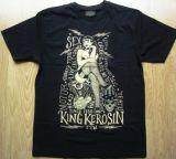 King Kerosin Regular T-Shirt / Sexy Motor Girl