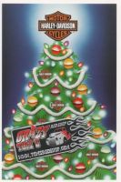 X-Mas Cards Motorcycle  X - 550