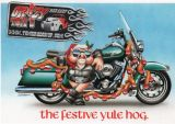 X-Mas Cards Motorcycle  X - 423