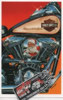 X-Mas Cards Motorcycle  X - 321