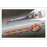 X-Mas Cards Race Cars  X - 401