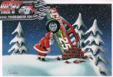 X-Mas Cards Race Cars  X - 188