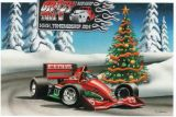X-Mas Cards Race Cars  X - 378