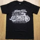 King Kerosin Regular T-Shirt / Hippy Killer - schwarz