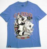 King Kerosin Regular T-Shirt Blue / Casino