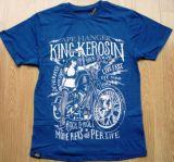 King Kerosin Regular T-Shirt Blue / Ape Hanger