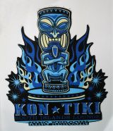 King Kerosin Sticker - Kon Tiki