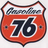 Vintage Race Sticker - 76 Vintage Signs