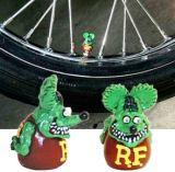 Ventilkappen - Rat Fink green