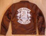 Vintage Canvas Jacke Braun - Lumberjack / Ride Forever