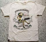 King Kerosin Regular T-Shirt offwhite / No Pain, No Gain
